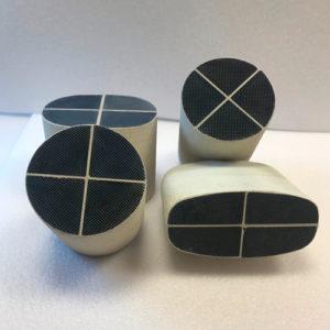 Cartuchos para filtros de partículas y su montaje